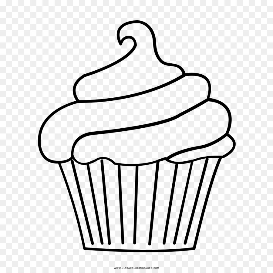 Cake background drawing . Clipart cupcake outline