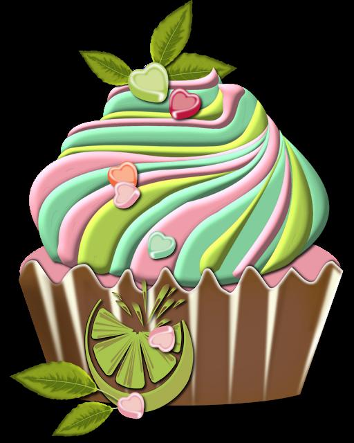 Valentine s day clip. Clipart cupcake rose
