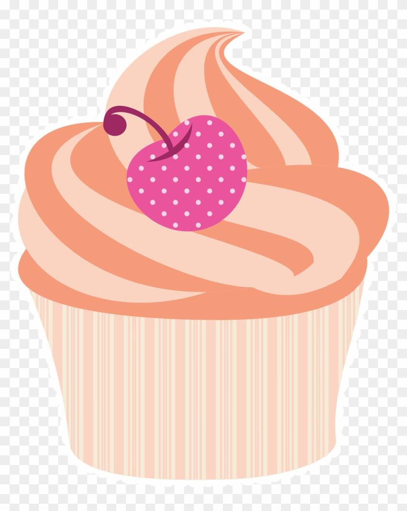 Frames illustrations hd baking. Clipart cupcake rose