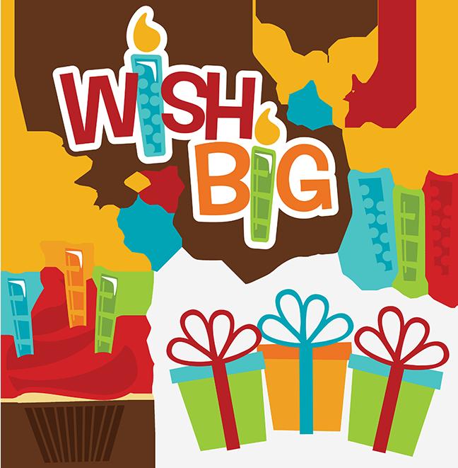 Scrapbook clipart happy birthday. Wish big svg files