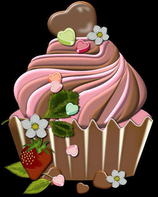 Cupcake ziyaret edilecek yerler. Food clipart fancy