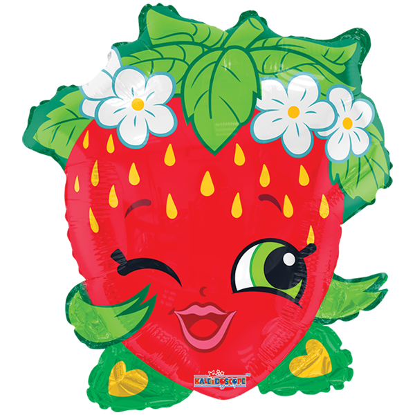 Watermelon clipart shopkins. Everyday fresa juniorshape personajes