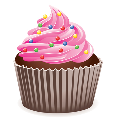 Cupcake clipart slice. Cupcakes free download clip