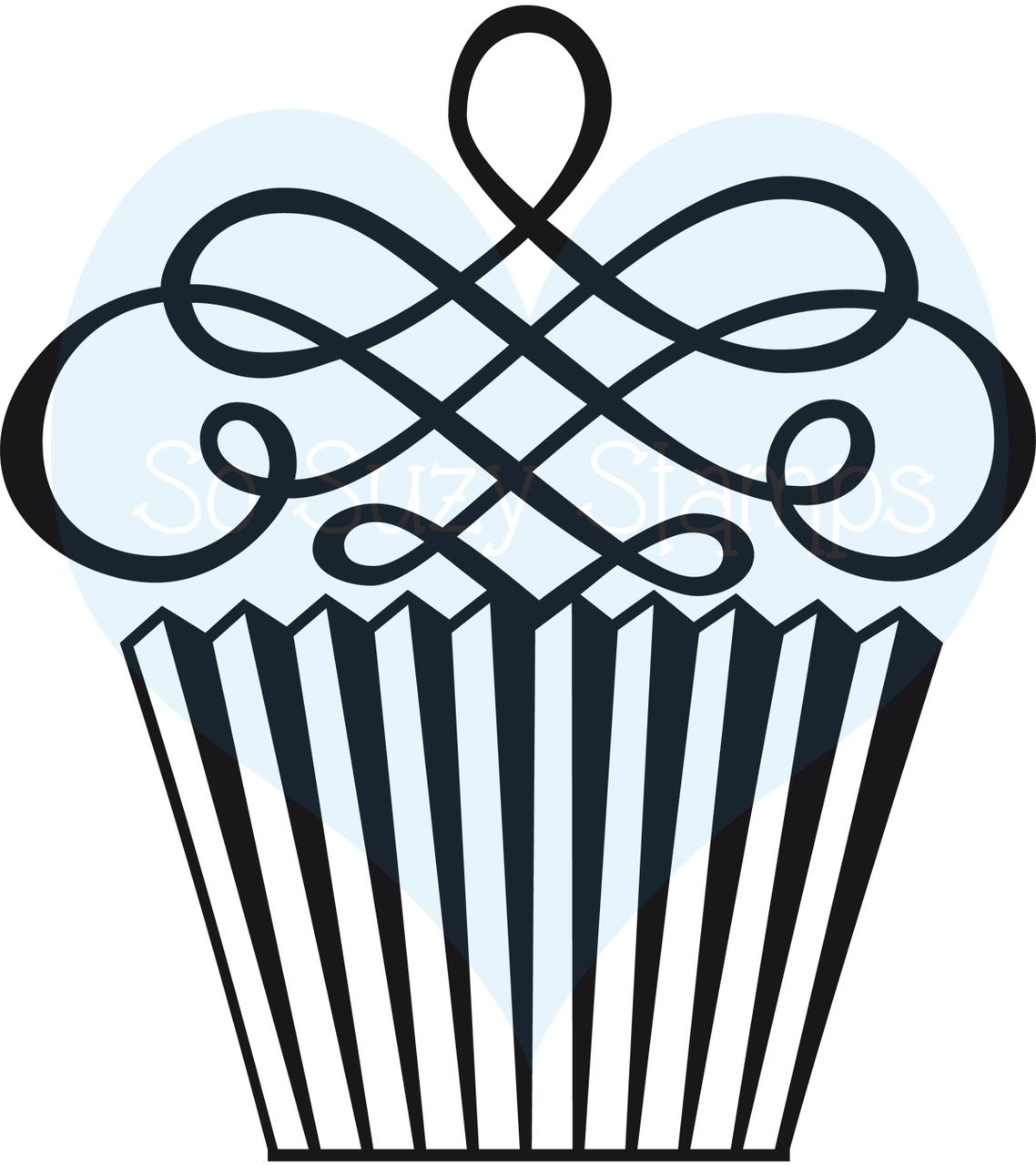 Image free download best. Cupcake clipart swirl