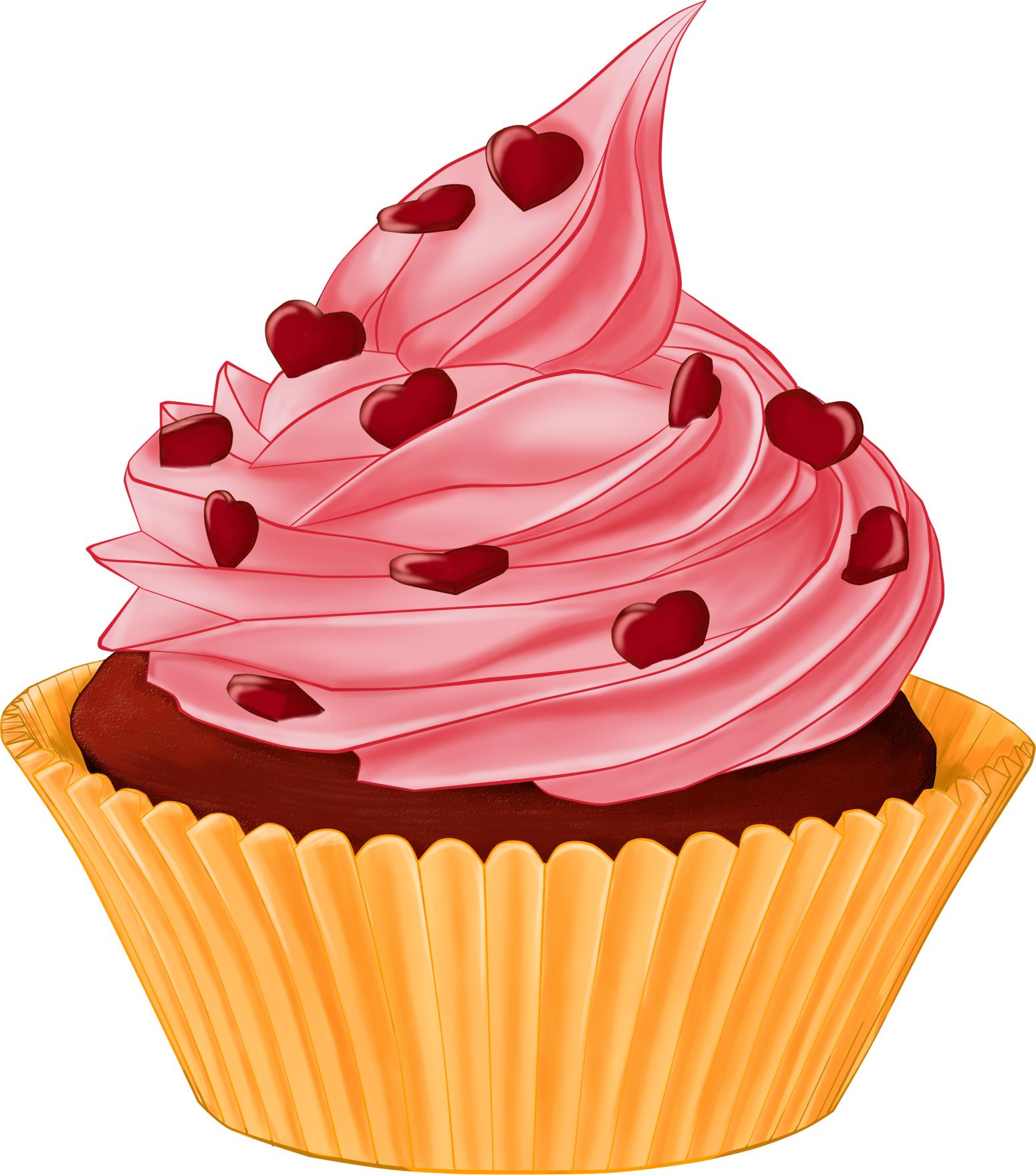 Png hd transparent images. Desserts clipart cupcake