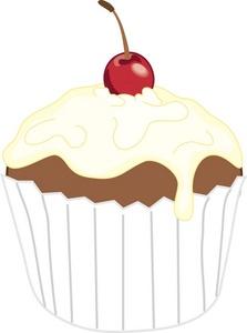Clip art library . Clipart cupcake vanilla cupcake