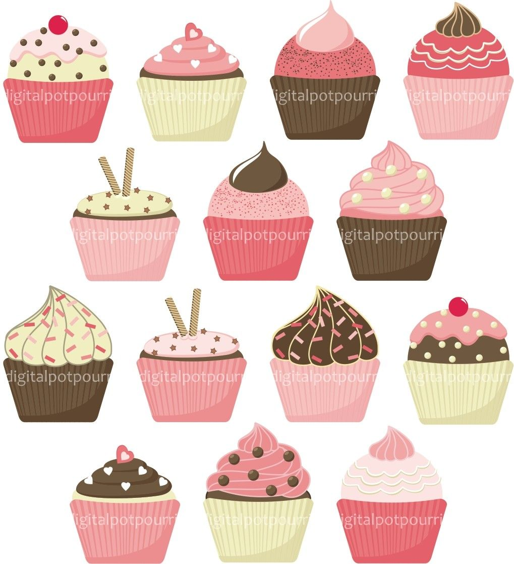 Cupcakes clipart vintage. Cupcake backgrounds wallpaper