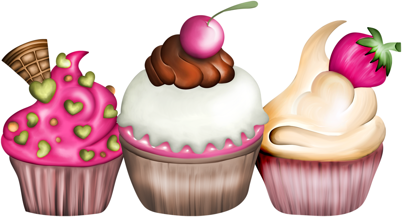 Food clipart cupcake. Vc fashionable el png