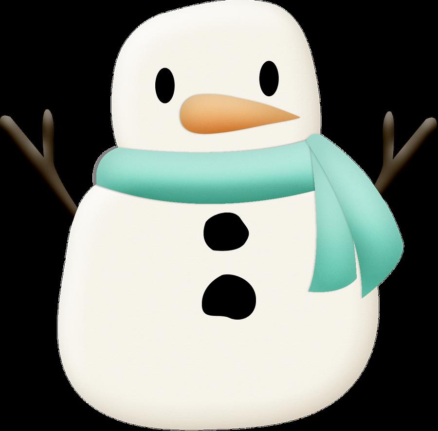 snowman clipart shape