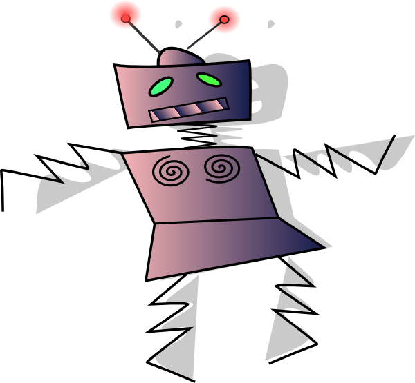 Family clipart robot. Dancing clip art at
