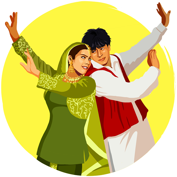 Google allo stickers on. Dance clipart bollywood dance