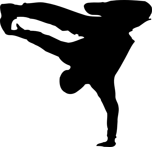 Break clip art at. Dance clipart symbol