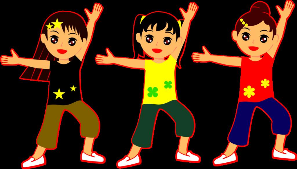 Kids dancing at getdrawings. Clipart dance child dance
