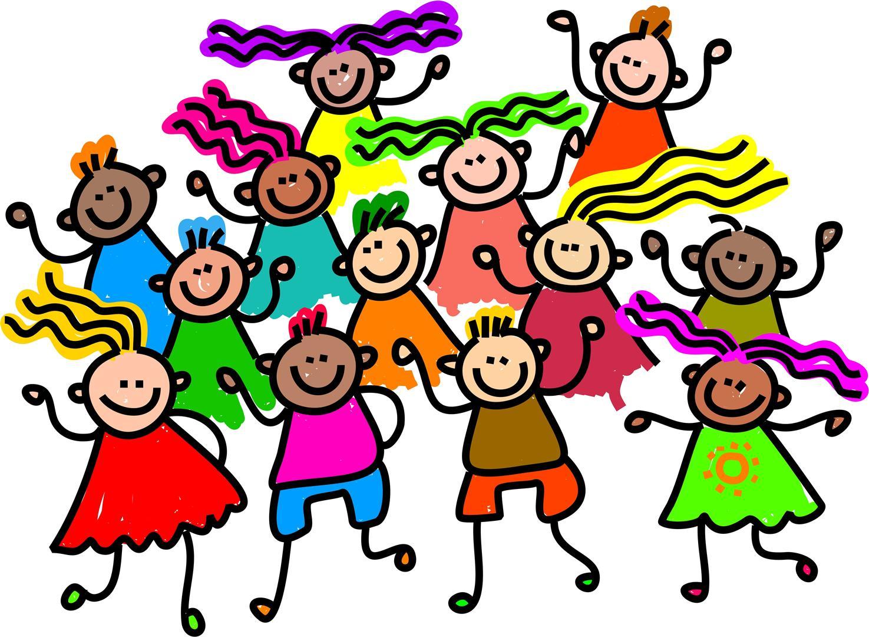Kids free download best. Dancing clipart children's