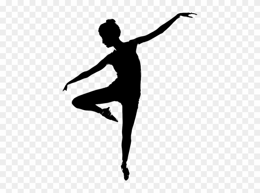 Dancer clipart contemporary dance. Silhouette