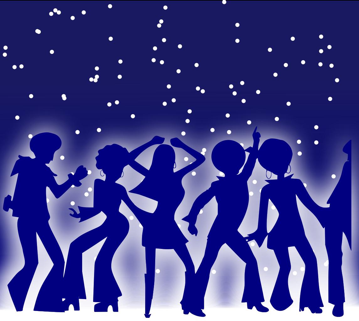 Dance clipart creative dance. File disco dancers svg