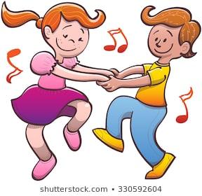 Clipart dance cute. Kids dancing portal