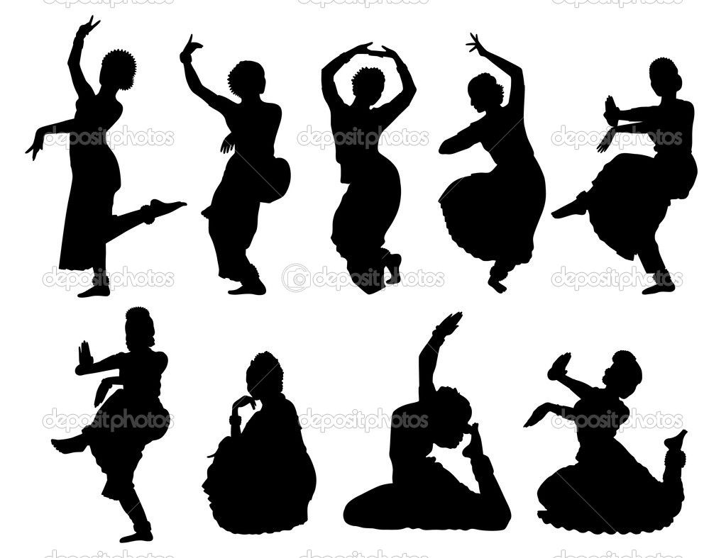 Clipart dance dance form. Black dancer silhouettes of