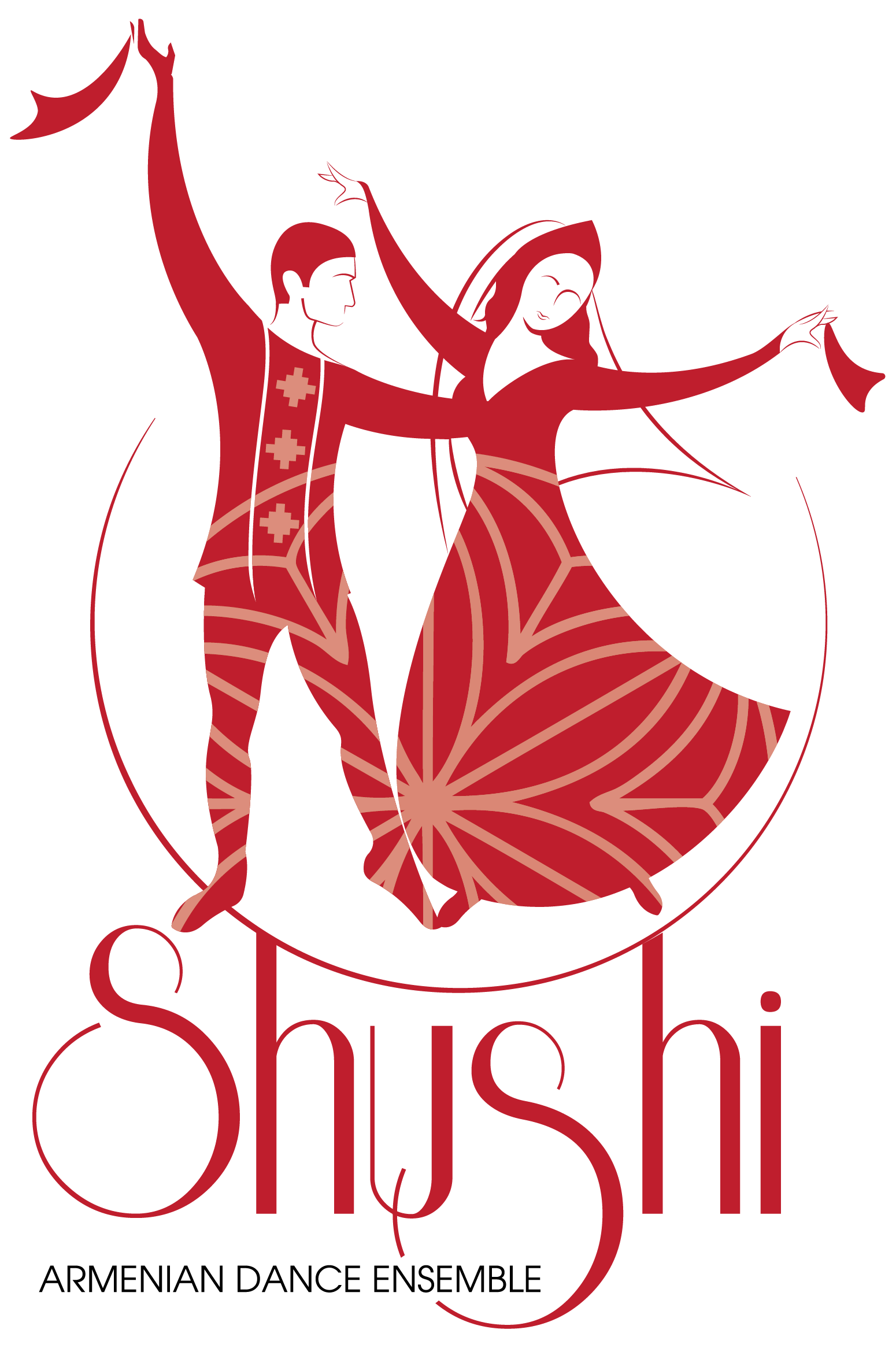 Shushi dance ensemble. Facebook clipart poster