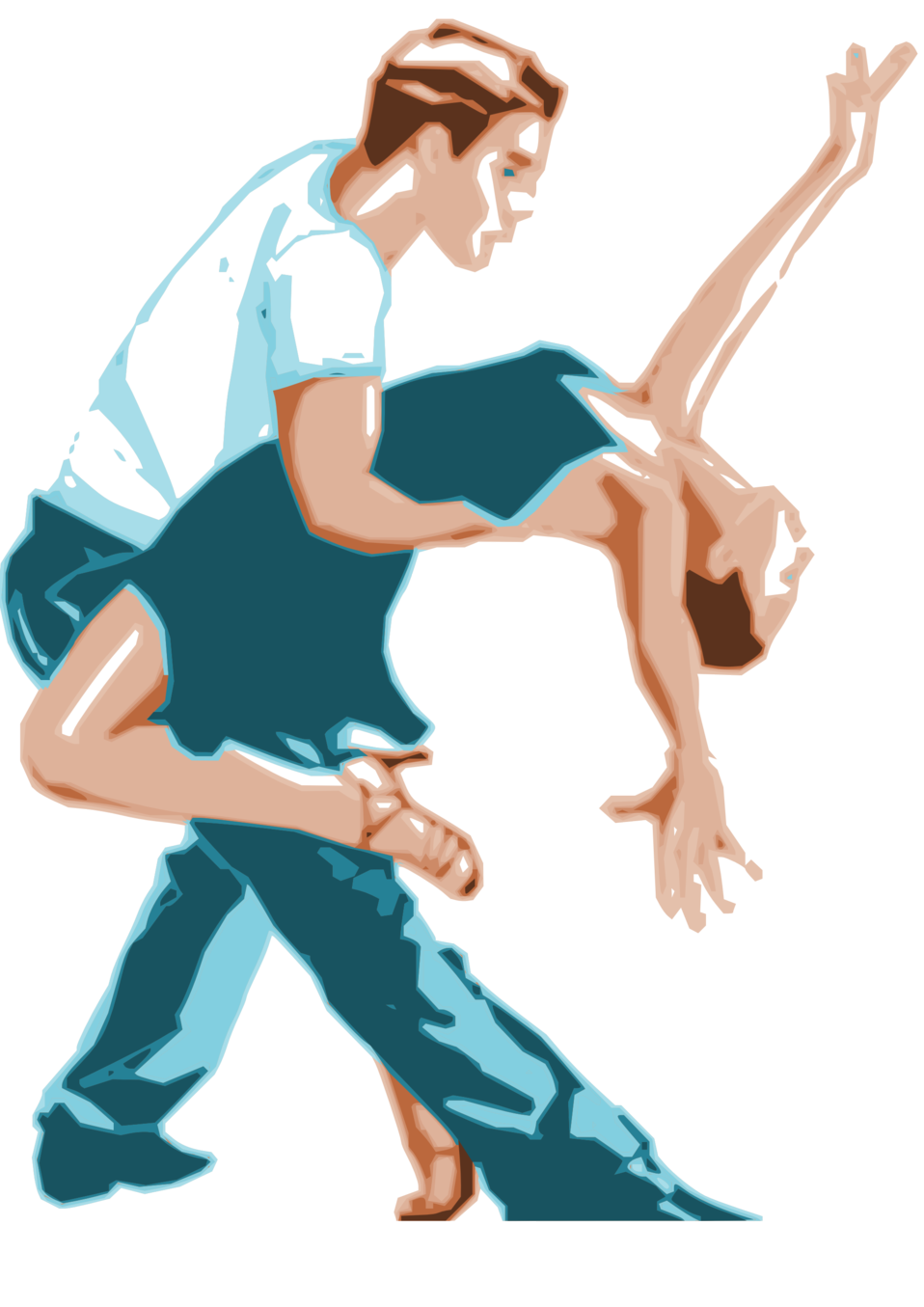 Clipart man dancer. Public domain clip art