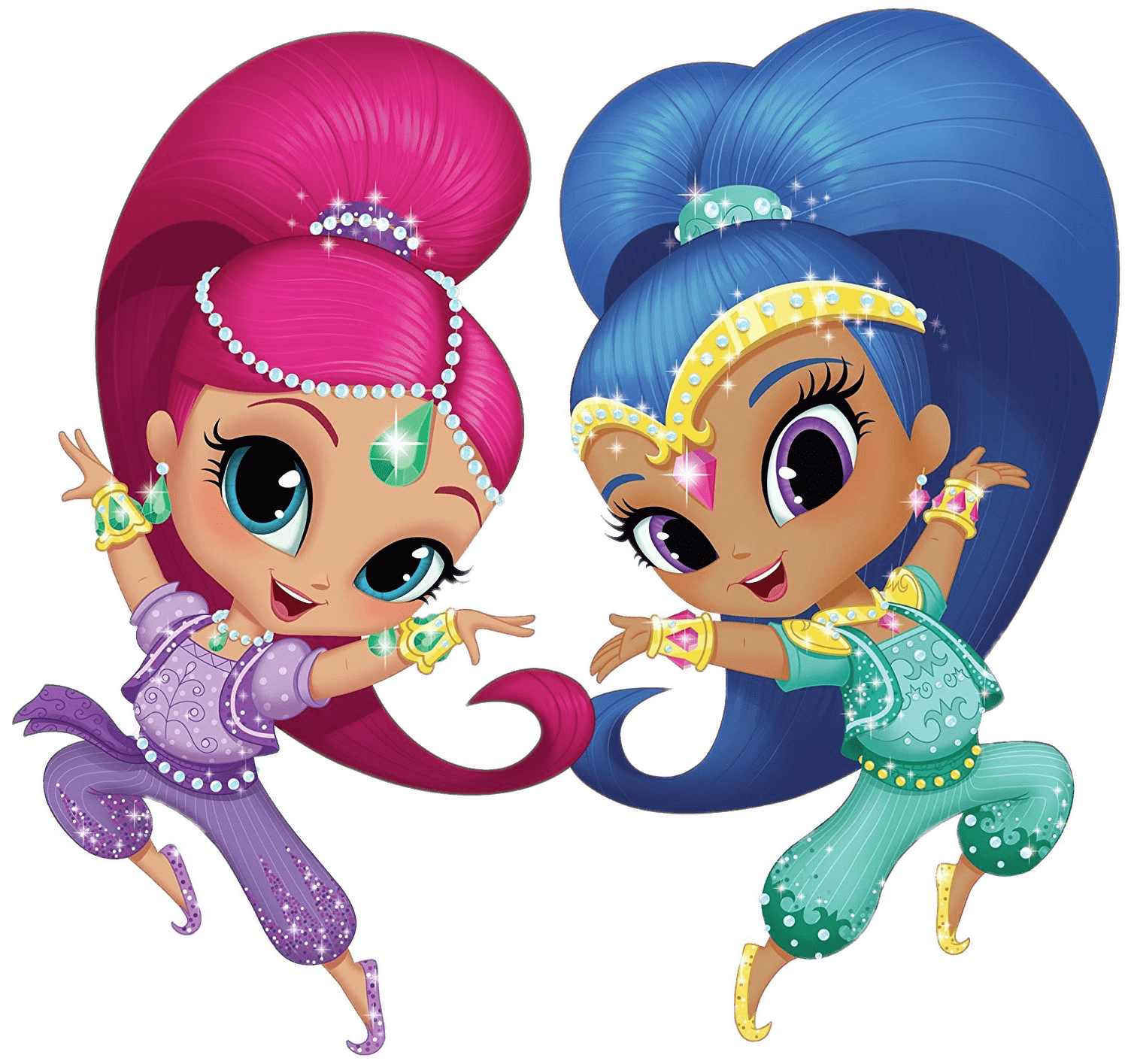 Dancing transparent stickpng download. Shimmer and shine png images