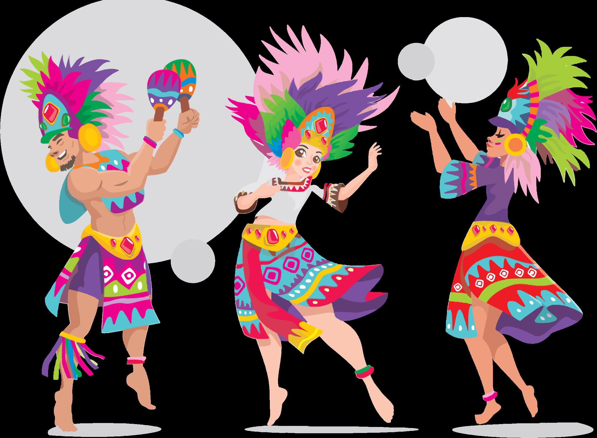 Dance clipart cultural dance. Sinulog dancers big image