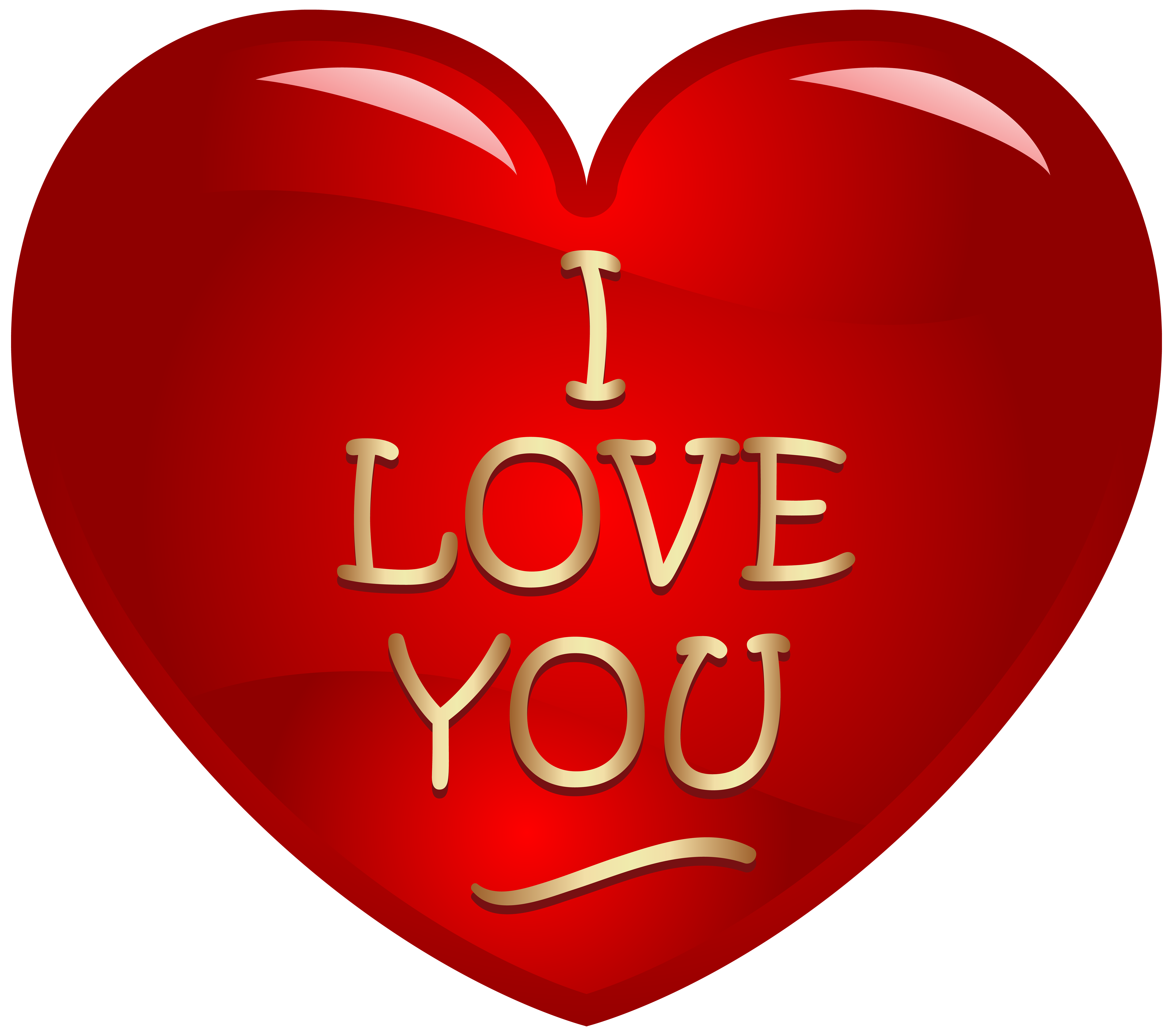 I heart you clipart. Love hearts png