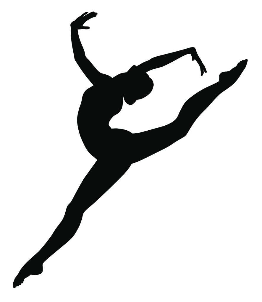 Piano clipart professional dancer. Jazz silhouette at getdrawings