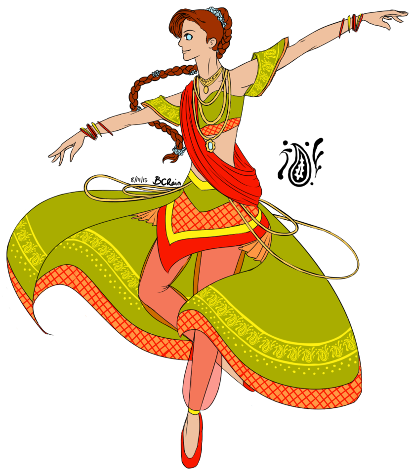 Dancing Clipart indian dance