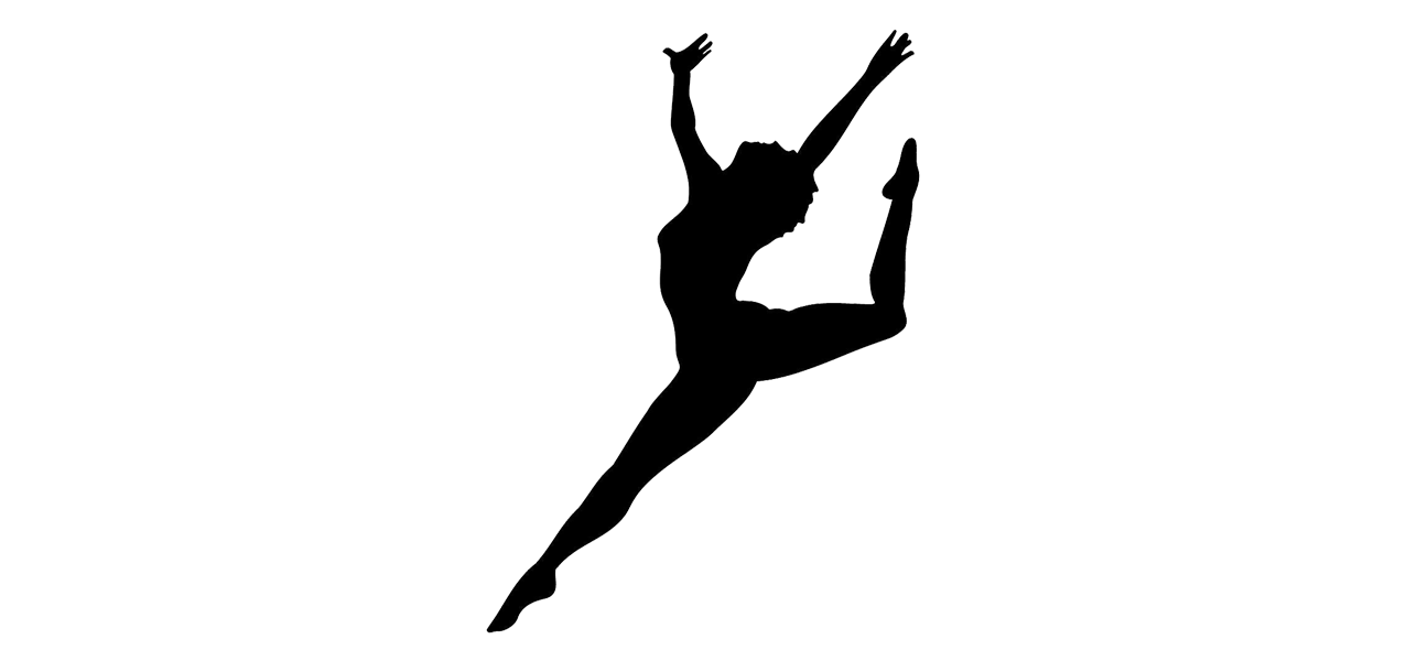 Dancer silhouette background at. Dance clipart transparent