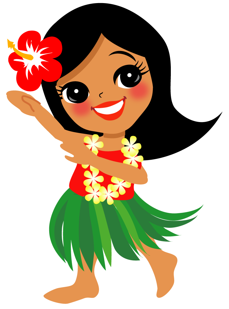 Pin by marina on. Hawaiian clipart hawaiian outfit