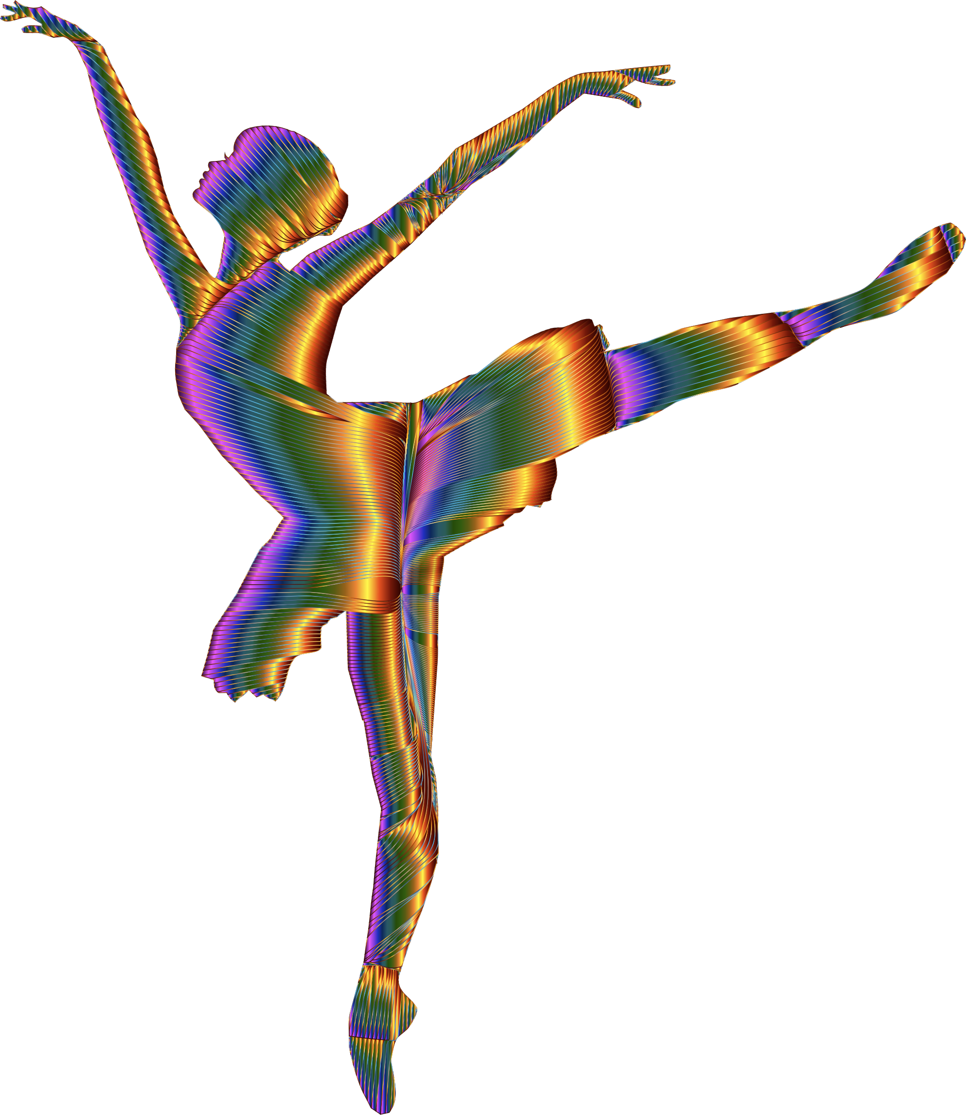 Silhouette clip art at. Dance clipart colorful