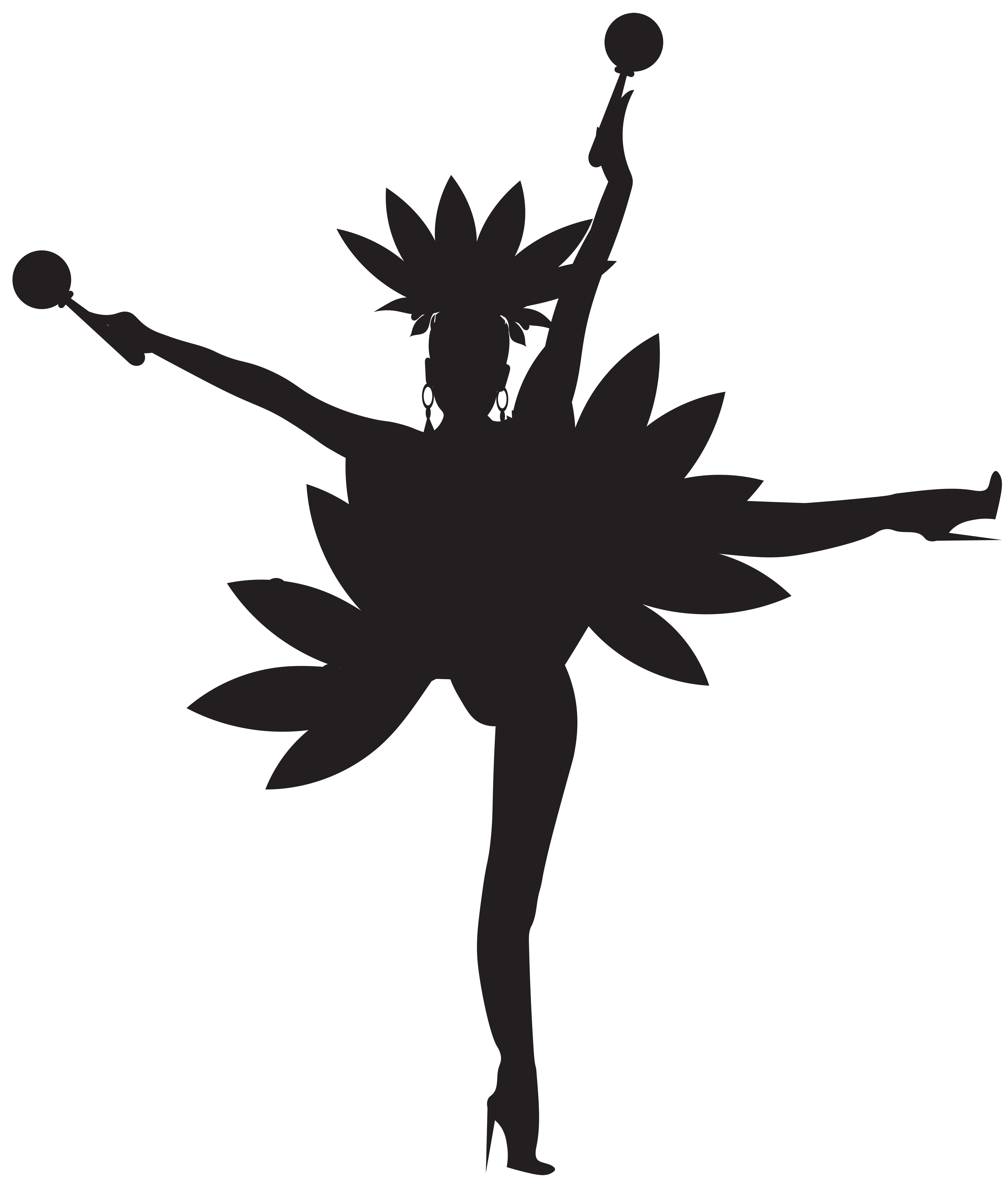 Dance clipart symbol. Dancers silhouette clip art