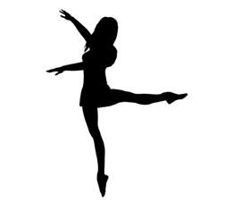 Pics for dancer silhouette. Dancing clipart lyrical dance