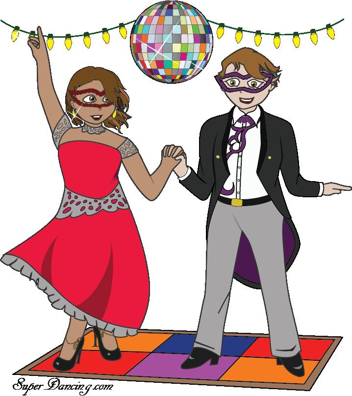 Dancing clipart partner dance. Superdancing we teach ballroom