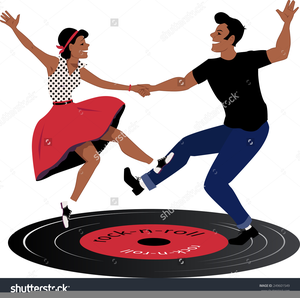 Dancing free images at. Dance clipart rock n roll