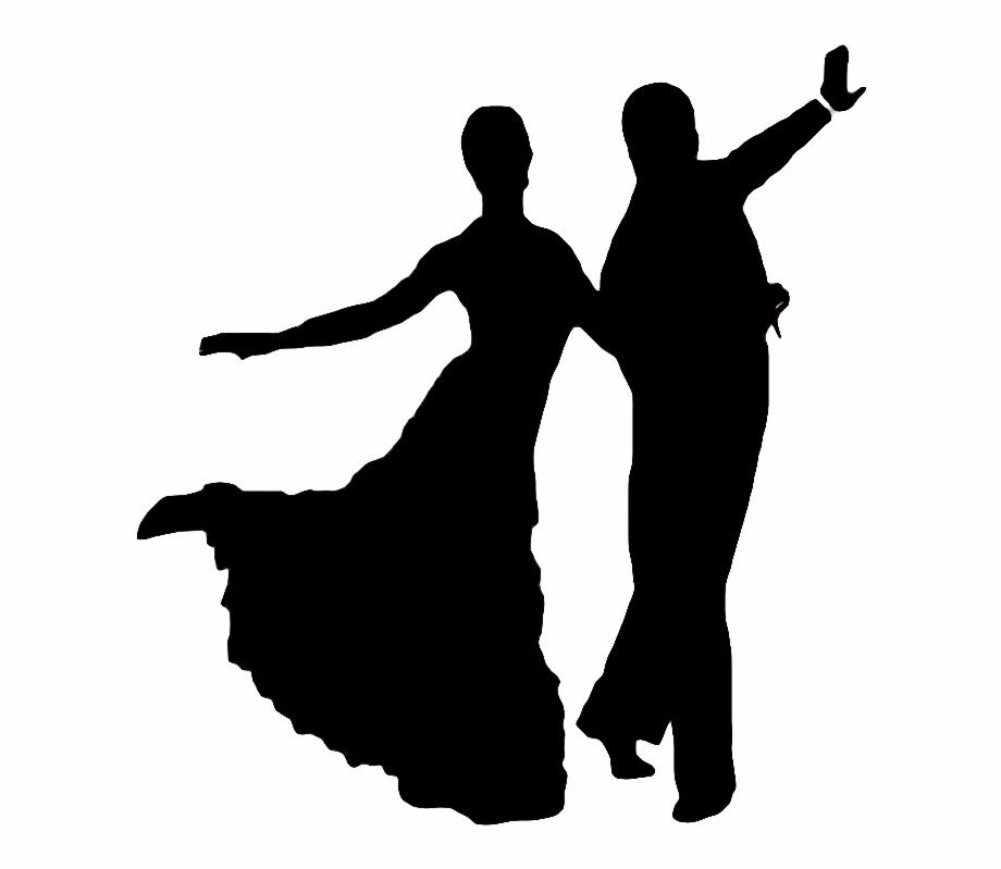 Dance clipart social dance. Dancing transparent silhouette