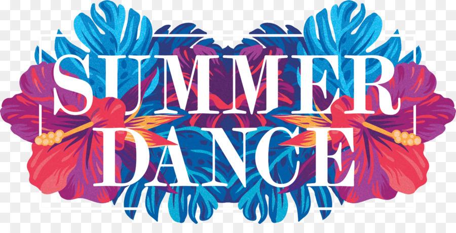 Camp logo transparent clip. Dance clipart summer