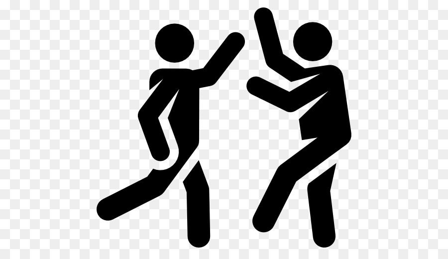 Clipart dance symbol. Hand cartoon communication
