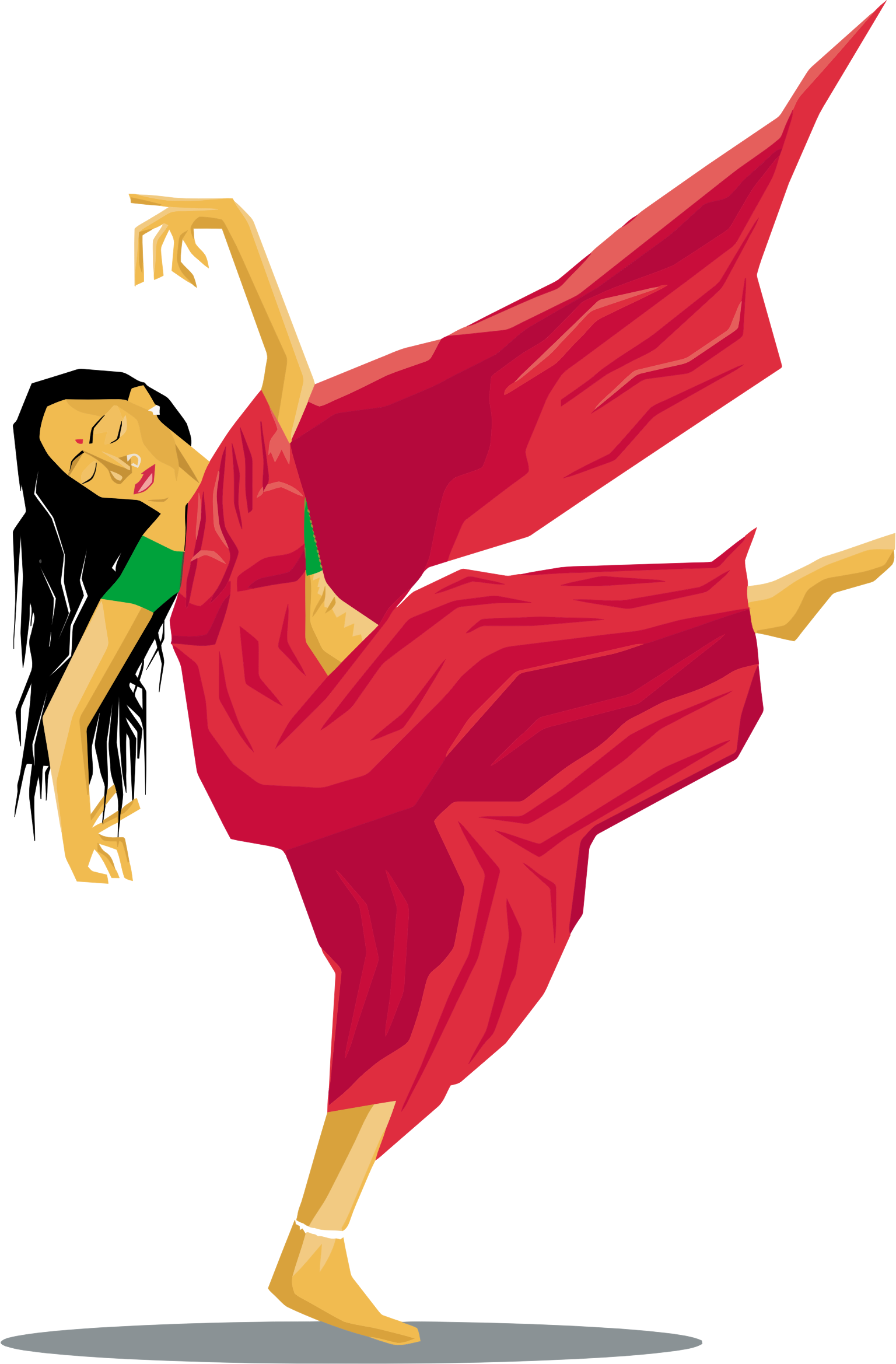 lady clipart dance