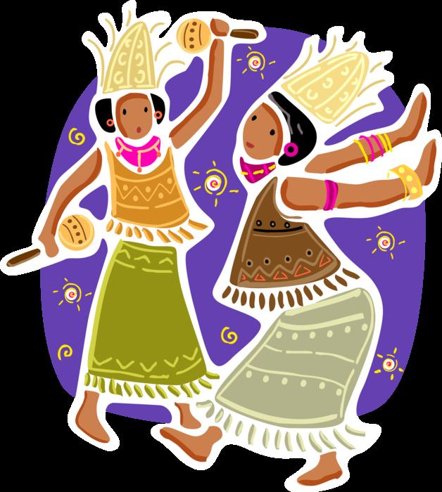 Dance clipart cultural dance. Indonesian bali women at