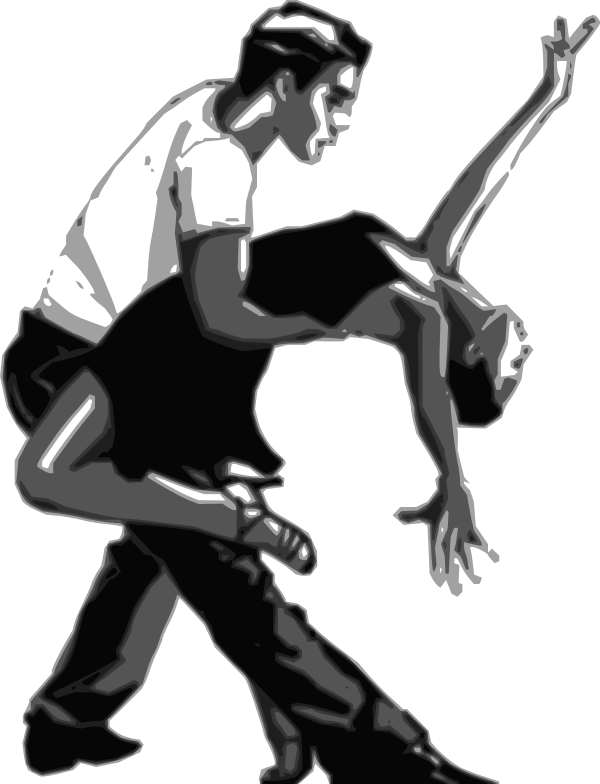Dancing clip art panda. Dance clipart vector
