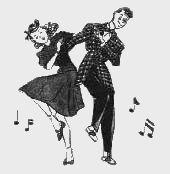 best the art. Clipart dance vintage