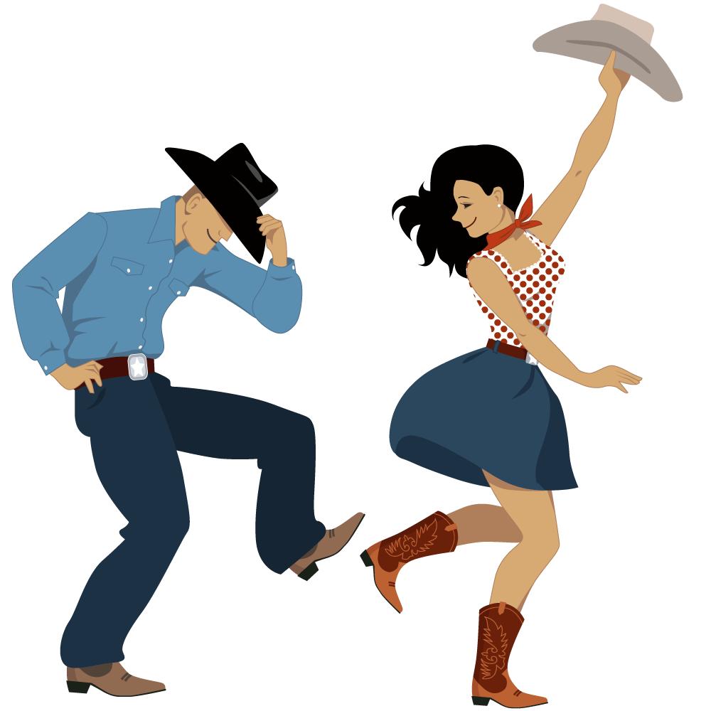 Usa west square dance. Flies clipart dancing
