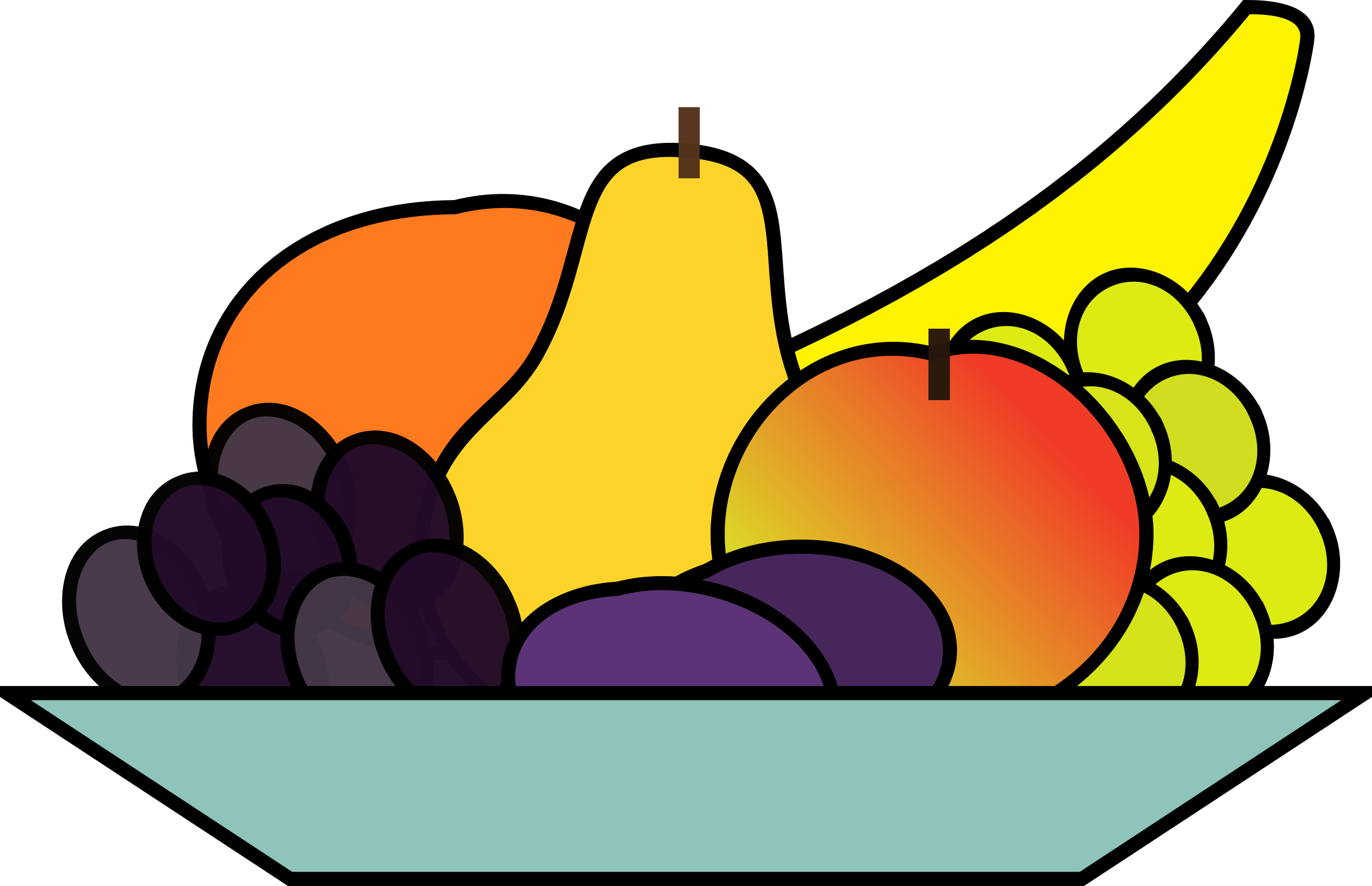 Plate big image png. Fruits clipart fruit platter