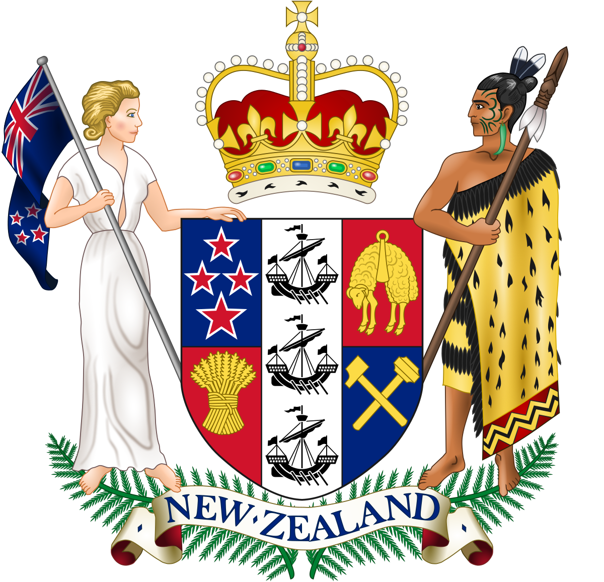 Intolerable acts clipart early settler. Politics of new zealand