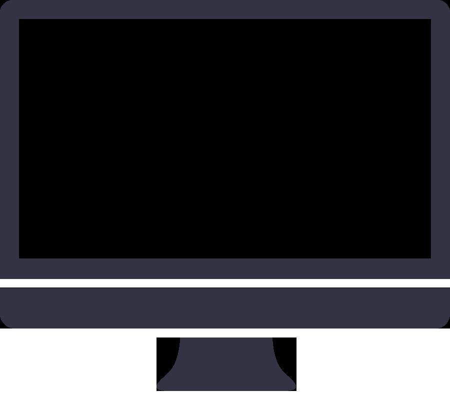 Clipart tv monitor. Display mac computer screen