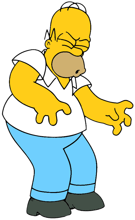 Homer jpg pixels simpsons. Clipart definition concern