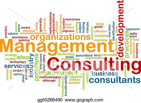 Clipart definition consultant. Stock illustration management consulting