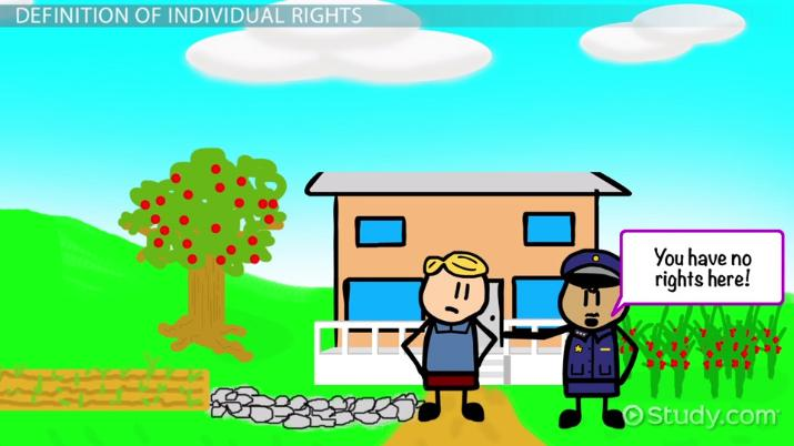 What are rights definition. Voting clipart individual right